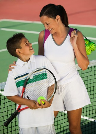 Tennis Players Stock Photo - 5419881