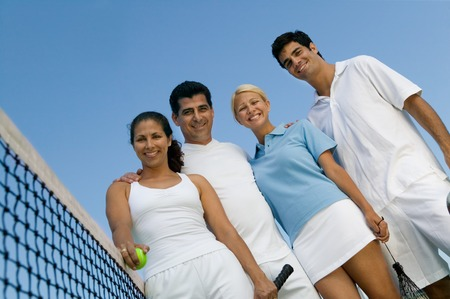 Tennis Buddies Stock Photo - 5419895