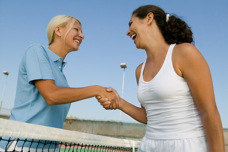 politeness: Tennis Players