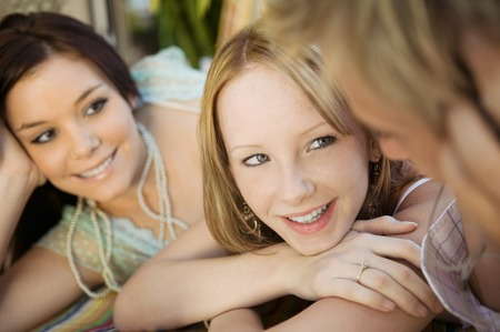 Friends Hanging Out Together Stock Photo - 5428306