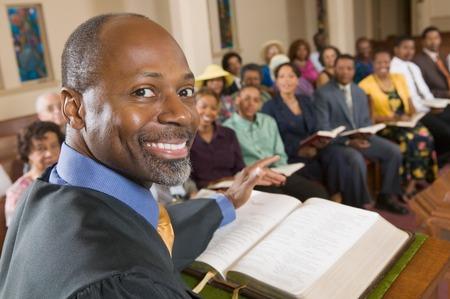pastor: Preacher and Congregation LANG_EVOIMAGES