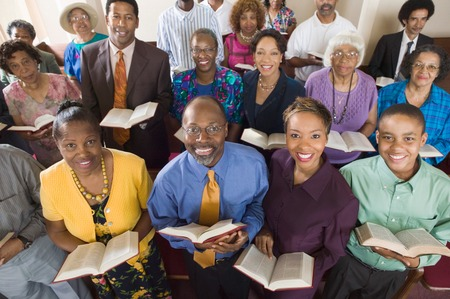 African American Congregation Stock Photo - 5428322