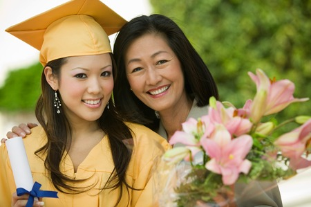Mother and Daughter at Graduation Stock Photo - 5428436