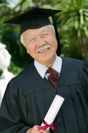 Smiling Senior Graduate Stock Photo - 5428442