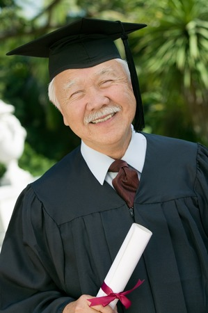 alumnae: Smiling Senior Graduate