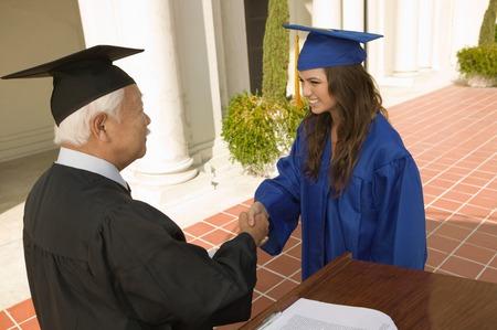 alumnae: Graduate Receiving Diploma