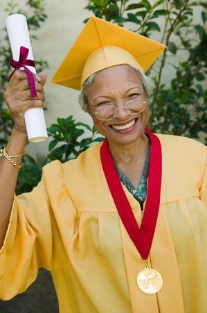 Senior Graduate Stock Photo - 5428476