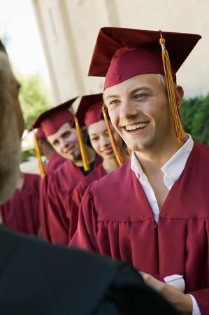 twentysomething: Graduate Receiving Diploma