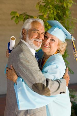 alumnae: Senior Graduate and Husband