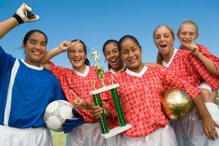 team mate: Victorious Girls Soccer Team