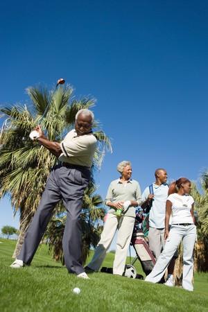 early sixties: Senior Golfers