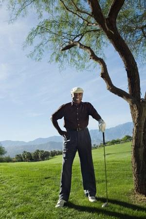 early 60s: Golfer