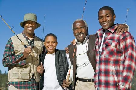 Male Bonding on Fishing Trip Stock Photo - 5435787