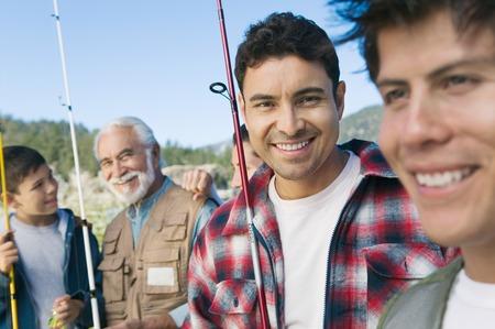 Guys on Fishing Trip Stock Photo - 5435801