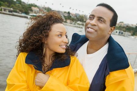 Couple on Boat Stock Photo - 5435869