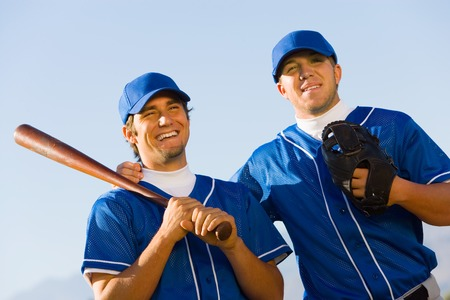 adult only: Baseball Teammates