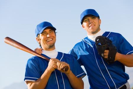 20s adult: Baseball Teammates