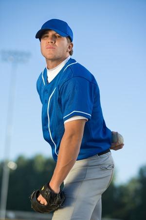 Baseball Pitcher Stock Photo - 5435919