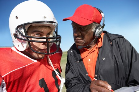 strategically: Football Player and Coach