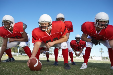 Offensive Line Stock Photo - 5435937
