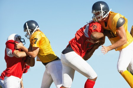 the football player: Hacer frente a jugadores de f�tbol LANG_EVOIMAGES
