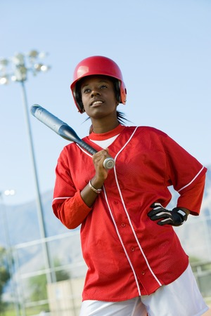 Softball Player Stock Photo - 5435995