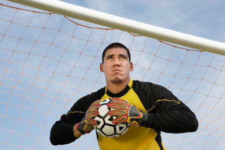 arquero futbol: Soccer Goalkeeper