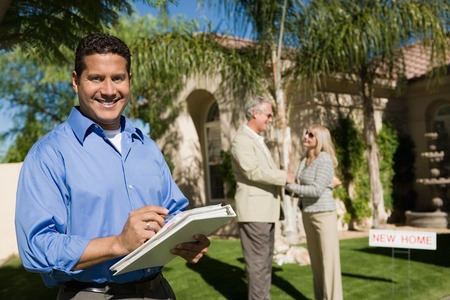 Real Estate Agent Stock Photo - 5436123