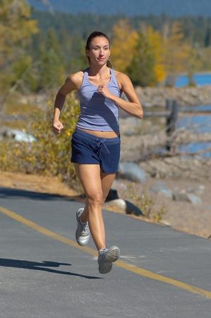 Woman Jogging Stock Photo - 5436174