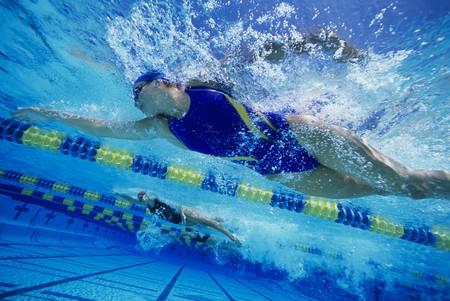 Racing en el grupo de nadadores  LANG_EVOIMAGES