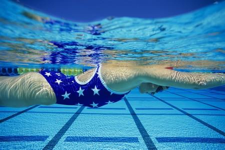 lane marker: Swimmer in Water