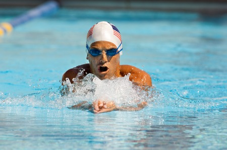 Athletic Swimmer Stock Photo - 5436227