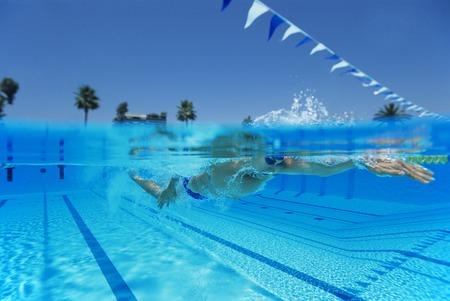 twentysomething: Man Swimming in Pool