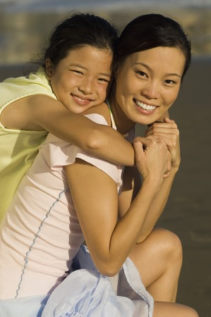 twentysomething: Mother and Daughter on Beach