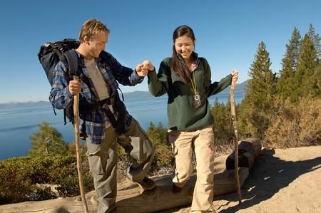 Couple Hiking Stock Photo - 5438001