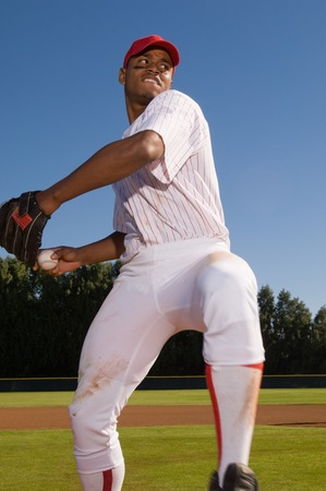 baseball game: Pitcher Winding Up LANG_EVOIMAGES