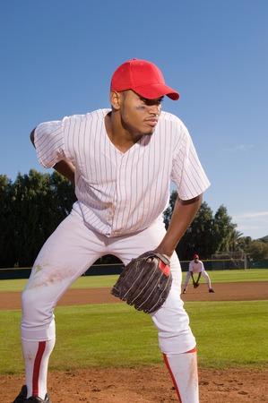 Pitcher Preparing to Throw Stock Photo - 5404575