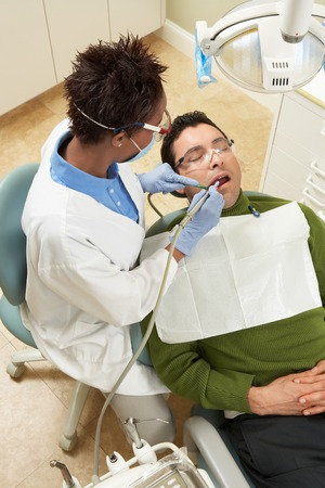 personal hygiene: Dentist and Patient