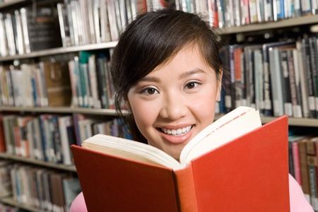 Young Woman Reading Stock Photo - 5438243