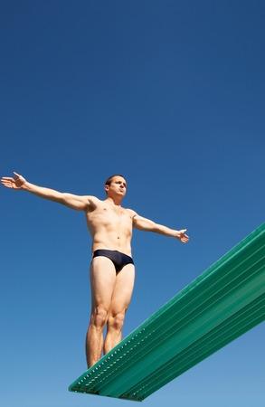 springboard: Diver