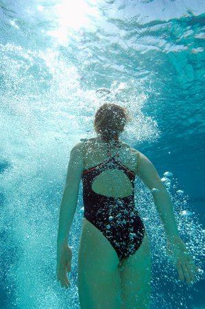 Athletic Swimmer Stock Photo - 5404476