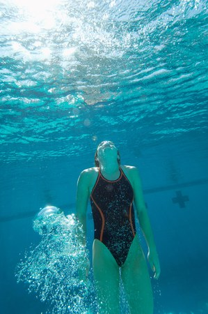 Athletic Swimmer Stock Photo - 5404490