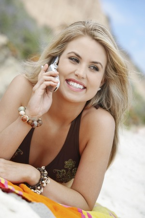 twentysomething: Young Woman on Cell Phone