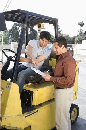 warehouseman: Warehouseman and forklift truck driver LANG_EVOIMAGES