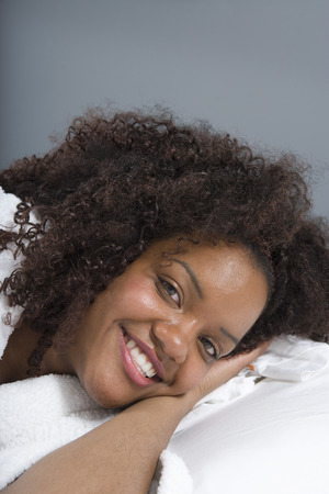 Young Woman Smiling Stock Photo - 5449654