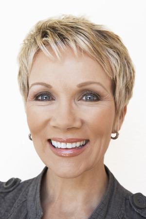 Woman Smiling Stock Photo - 5449956