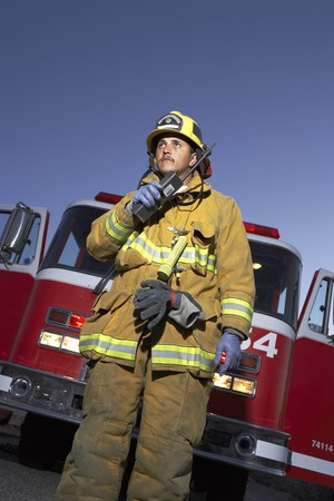 Fire Fighter Stock Photo - 5460023