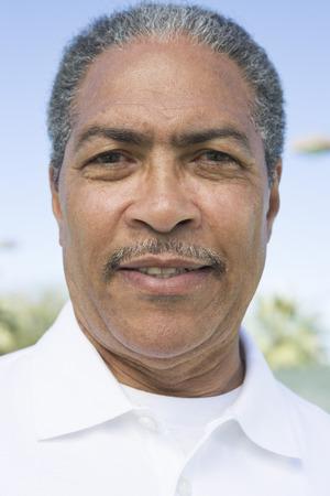 口ひげを持つ男の肖像画 写真素材 - 5470148