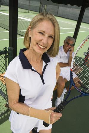 Female tennis player Stock Photo - 5470212