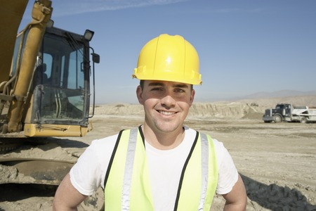 Construction Worker on Site Stock Photo - 5470222